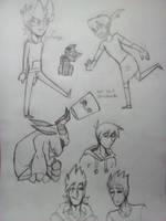 Eddsworld Doodle Dump by Inked-Feathers