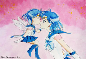 Adults and children: Sailor Mercury by YoujinTsukino