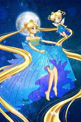 Usagi Tsukino like Cosmic Serenity by YoujinTsukino
