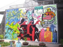Merdeka Mural by orkibal