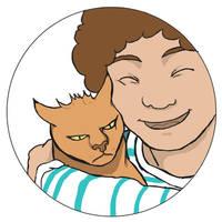 Annoyed cat - II by doppioslash