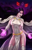 Raven - White version .NSFW opt. by martaino