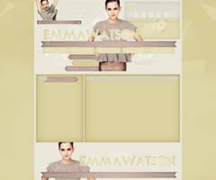 Emma Watson Premade by lenkamason