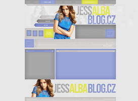 Jessica Alba Free Layout by lenkamason