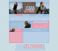 Cara Delevingne Ordered Layout by lenkamason