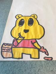 Pooh bear  by sealightbreeze