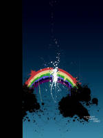 The Rainbow Cried by Verticae