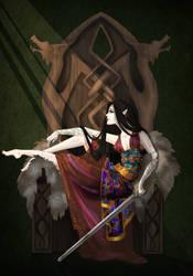 Dragon Queen by Kingoftheplatypus