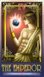 DN Tarot -The Emperor- by Luvelia