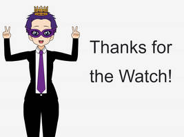 Thanks For the Watch Portrait by TheLoudHouse1998