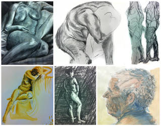 Life drawing 2013 by Ludjia