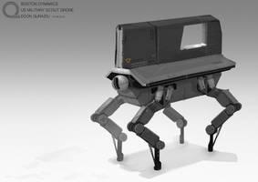 Scout robot by EdonGuraziu