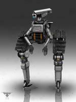 Security Robot by EdonGuraziu