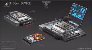 T-SCAN Prop Design by EdonGuraziu