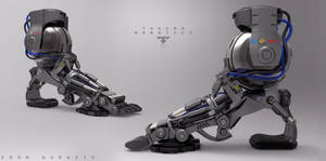 Foot Prosthetic  Concept by EdonGuraziu