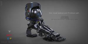 Prosthetic foot  Concept by EdonGuraziu