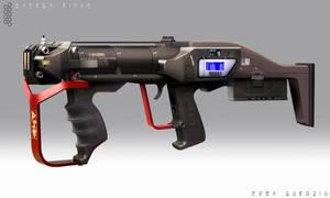 Energy Rifle - Concept by EdonGuraziu