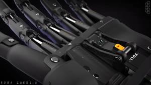 Robotic Hand - Concept CloseUp by EdonGuraziu