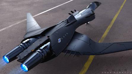 Future Jet ( S W A N ) - Concept by EdonGuraziu