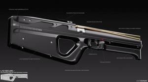 Future Weapon Design 2 by EdonGuraziu