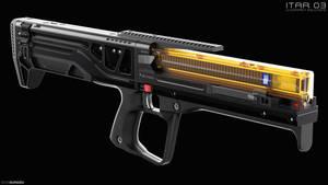 ITAR 03 Weapon Concept Design by EdonGuraziu