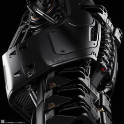 GURA Corp Droid Concept Design by EdonGuraziu