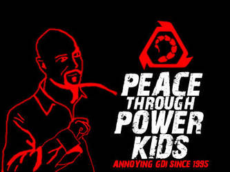 Peace through Power kids by Adder24