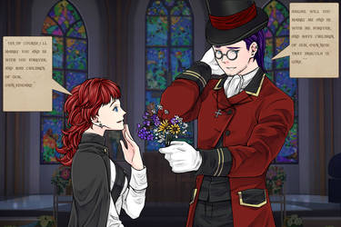 Edward Proposes To Abigail by yumihikiaru245