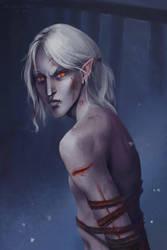 White elf by Marikunochka