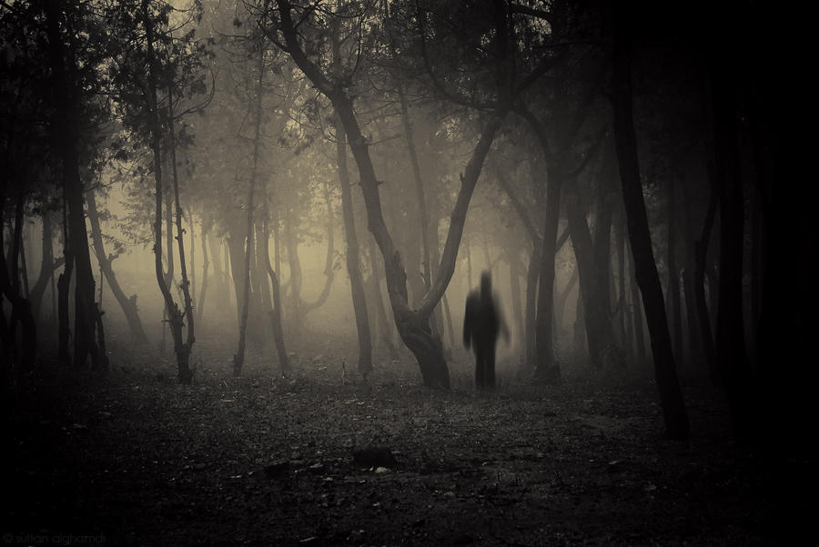 the ghost by sultan-alghamdi