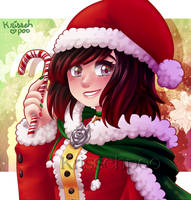 Happy Holidays- Love Ruby by krissehpoo