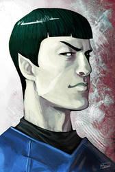 hot-goblin Spock by FrauLuminara