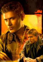 Dean, Hotter Than Hell by FrauLuminara