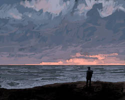 To the sea... by RHADS