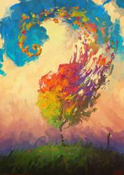 Color Hurricane by RHADS