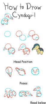 How to Draw Cyndaquil by Zero20ne