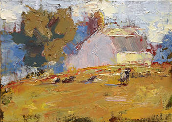 The Dairy Barn by FineArtCandice