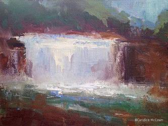 Weisenberger Falls by FineArtCandice