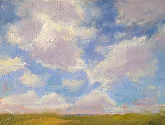 Cloud study by FineArtCandice