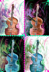Double Bass by randomperson101