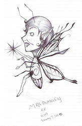 Mrs.Butterfly by Boywithmeese