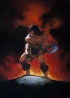 Conan the Destroyer by GoshaXab