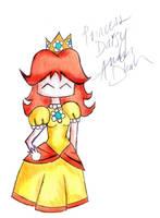 +Princess Daisy+ Chibi + by blueandpurple-rock
