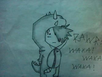 RAWR WAKA WAKA by xxPockyMonxx