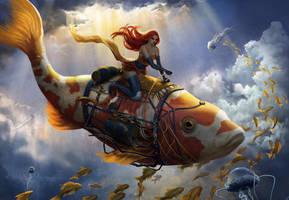 Sea in the Sky by Caleb-Brown