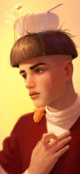 Bowl Cut by Caleb-Brown