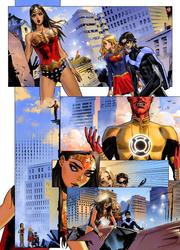 Wonder Woman Pg1 by Caleb-Brown