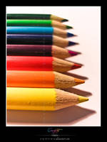 Crayons by VeraCotuna