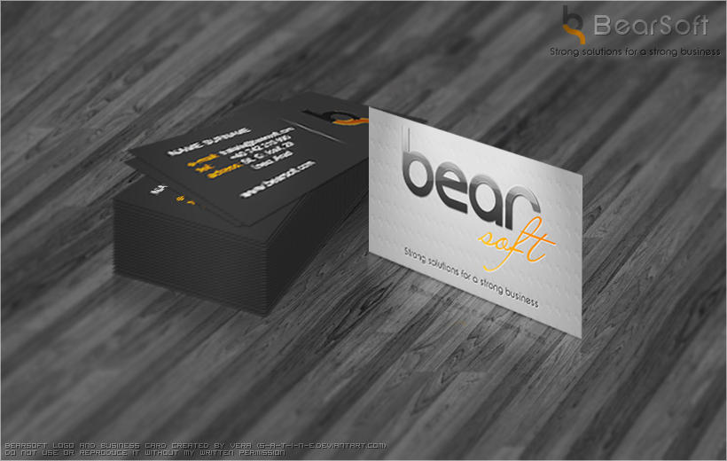 BearSoft Business Card by VeraCotuna