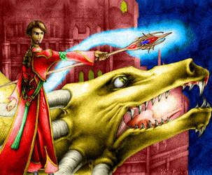 Illusion dragon by cirelin